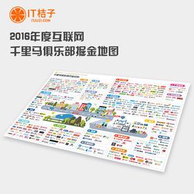 2016年度中国互联网千里马俱乐部掘金地图【现货】