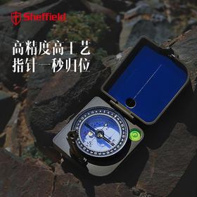 谢菲德 M3罗盘仪地质风水多功能指南针高精度驴友装备指北针