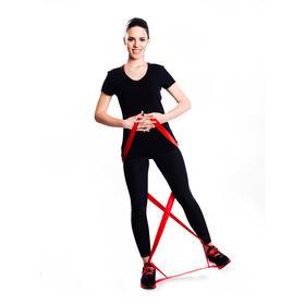 美国赛乐Thera-Band绿色无乳胶CLX弹力带9环瑜伽训练带健身康复阻力带