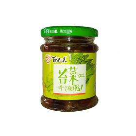 百家味苔菜罐头 开罐即食清脆爽口下饭菜
