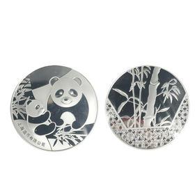 2014 熊猫宝贝银章