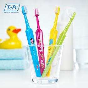 瑞典进口 TePe 儿童牙刷,52年专业口腔品牌!幼儿 / 儿童 / 青少年 2支装,超软刷毛