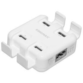 Kingmax USB PowerBox 便携式4口USB充电器(预计3-5天发货哦)