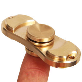 美国EDC Hand spinner指尖螺旋 手指尖陀螺 Torqbar Brass精密纯铜