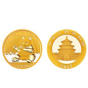 2017  熊猫金质纪念币  3克 | 基础商品