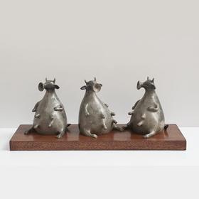 UCCASTORE推荐 艺术家徐敏 青铜艺术雕塑——牛美美