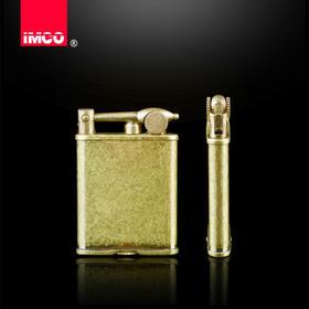 正品奥地利 IMCO 爱酷 IC510-010爱酷 煤油纯铜老式复古打火机 纤薄燃油机
