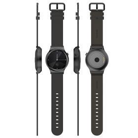 土曼T-Ripple冰川银智能手表(钢带)