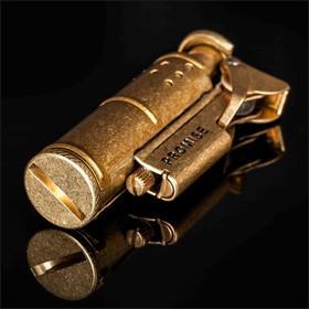 【预售2月26日发货】正品PROMISE百诺战壕纯铜打火机防风煤油个性打火机复古创意便携男士