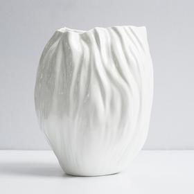 UCCASTORE 谢东骨瓷 褶皱系列 艺术 花瓶 纯白 创意 设计