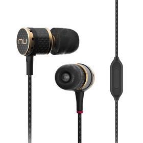 新智(NuForce)NE800M 入耳式耳机 碳纤维机体黄铜导管 黑色