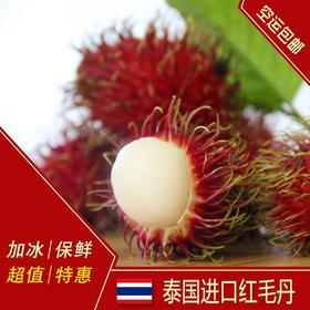 【限时特价】泰国进口 红毛丹 毛荔枝 新鲜水果4斤 多省省包邮坏包赔