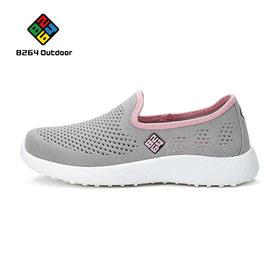 8264 女款跑步鞋2017春季透气减震耐磨运动鞋舒适跑步鞋网鞋女
