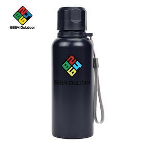 8264 户外不锈钢保温水杯 便携真空保温水壶 保温瓶 0.5L