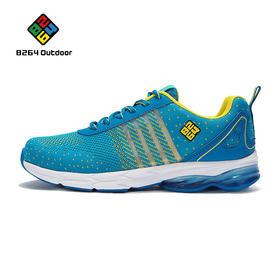 8264 户外越野跑鞋女2017春季透气耐磨减震气垫鞋舒适运动鞋网鞋
