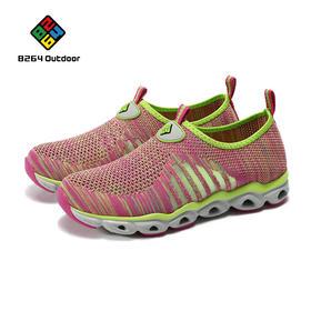 8264 户外徒步鞋女2017春季透气耐磨减震运动休闲鞋舒适网鞋子