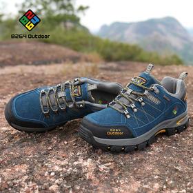 8264 户外男款徒步鞋秋冬季吸汗透气减震耐磨防滑低帮登山爬山鞋