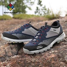 8264 户外男款徒步鞋秋冬季吸汗透气减震耐磨防滑登山爬山鞋子