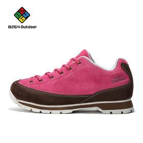 8264 户外情侣徒步鞋秋冬季平稳透气减震防滑减震低帮登山鞋
