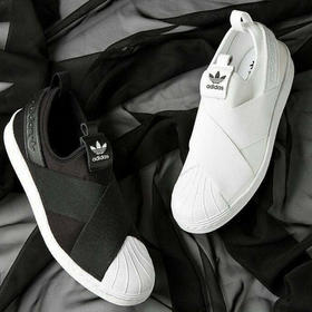 Adidas Superstar Slip-On 三叶草绑带贝壳头板鞋 5色(预售7天)