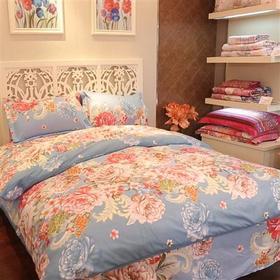 杉杉家纺床上用品四件套床单被套1.8m/2.0m床双人床笠