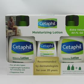 美国直邮 Cetaphil 丝塔芙保湿润肤乳液2X591ml+118ml 组合装