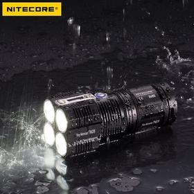 NITECORE奈特科尔6000流明超强充电强光手电筒搜索远射探照灯TM28