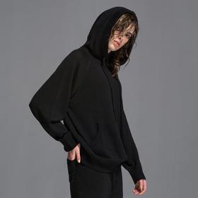 SYUSYUHAN设计师女装品牌 羊毛混纺针织套头连帽卫衣式星星上衣