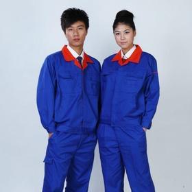 百年老屠现货工装135 新款蓝色涤卡 秋冬装长袖工作服套装