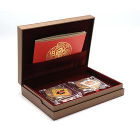 中国第一枚生肖邮票铜章--猴年邮票铜章