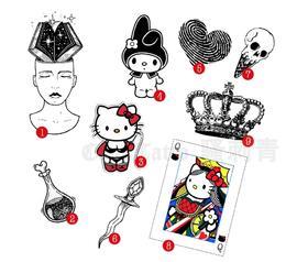 原创图 | 为个性女王设计的专属纹身(9 款)