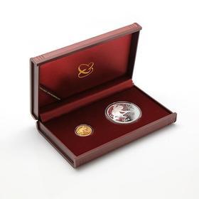 中国丙申(猴)年本色金银币