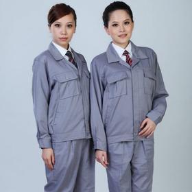 百年老屠现货工装106 新款灰色涤卡 秋冬长袖工作服套装