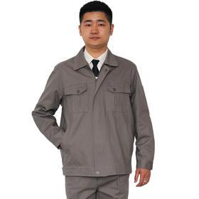 百年老屠现货工装661 热款灰色全棉 秋冬长袖工作服套装