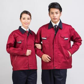 百年老屠现货工装633 时尚拼接色工装 秋冬长袖工作服套装