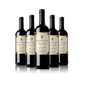 【正善鲜生】西班牙原瓶原装进口卡斯缇干红葡萄酒;199元/箱(6瓶);全国包邮