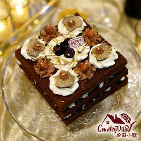 黑松露裸蛋糕