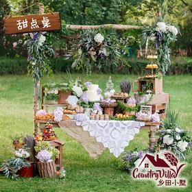 乡田小墅の甜点桌