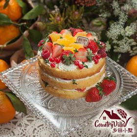 鲜橙裸蛋糕