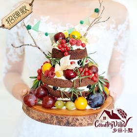 招牌巧克力裸蛋糕