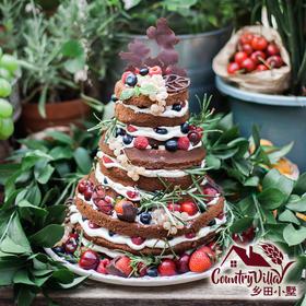 三层庆典裸蛋糕(4寸+6寸+8寸)