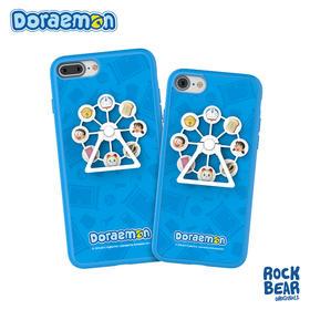 哆啦A梦 蓝色摩天轮保护手机壳