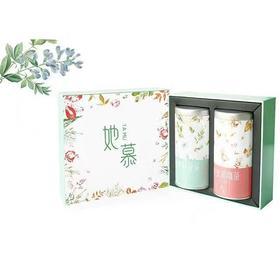 她慕 玫瑰润颜茶30g+香草纤体茶30g 花草茶套装