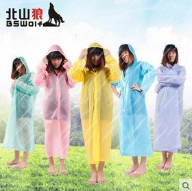 户外旅行雨衣雨披旅游便携男女透明非一次性成人雨衣加厚