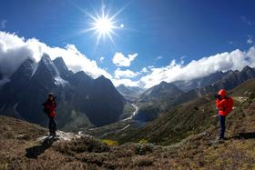 高山牦牛:西藏珠峰东坡嘎玛沟徒步(13天)