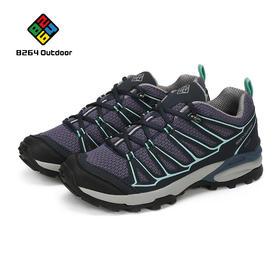 8264户外鞋徒步鞋2017新品女士减震防滑透气轻便网布低帮运动鞋