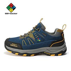 8264 户外情侣款登山鞋 秋冬季低帮防滑耐磨减震爬山徒步鞋