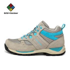 8264 户外情侣款徒步鞋秋冬季平稳透气减震耐磨登山爬山鞋