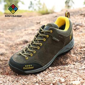 8264 户外低帮徒步鞋男秋冬季防滑耐磨减震透气舒适登山爬山鞋子