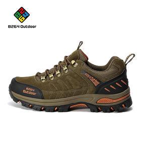 8264 户外情侣徒步鞋男秋冬季低帮防滑耐磨减震透气登山爬山鞋子